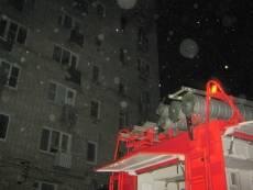 Саранские спасатели не допустили двух смертей в горящей многоэтажке