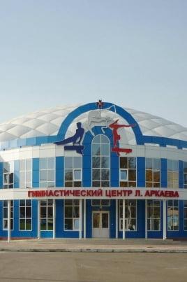 День открытых дверей в спортивной школе по спортивной гимнастике Л.Я. Аркаева постер