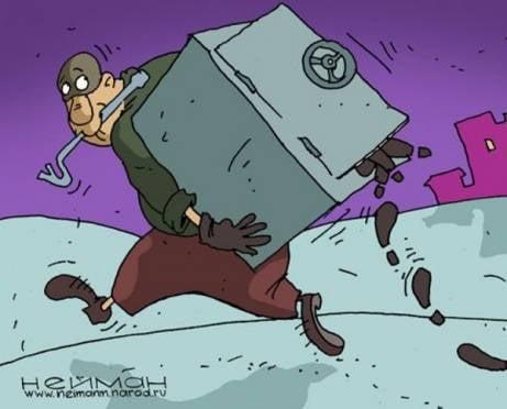 Полтора года полиция не могла поймать похитителя сейфа из офиса в Рузаевке