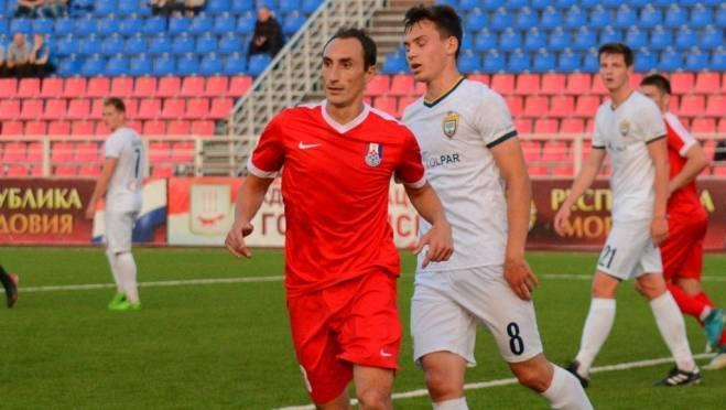Нападающий ФК «Мордовия» — лучший игрок зоны «Урал — Приволжье»