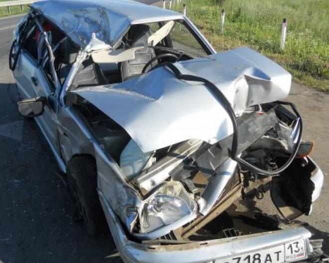 В Мордовии в ДТП серьезно пострадал трехлетний ребенок