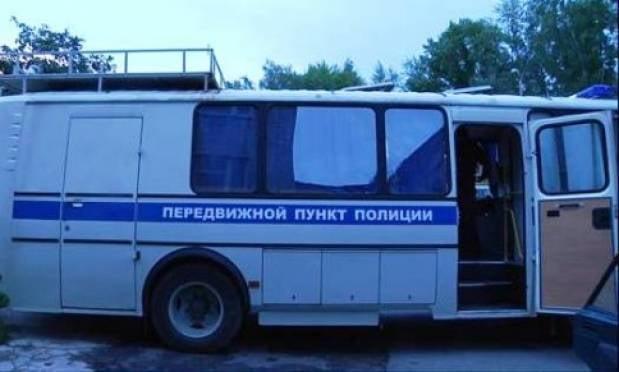 За порядком в Мордовии следит передвижной пункт полиции