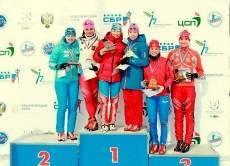 У Ольги Вилухиной — две медали чемпионата России по биатлону