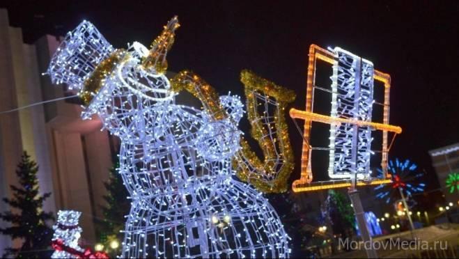 В голосовании за самый «новогодний» район Саранска приняли участие более 37 тысяч человек