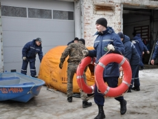 Спасатели Мордовии проверили снаряжение перед паводком