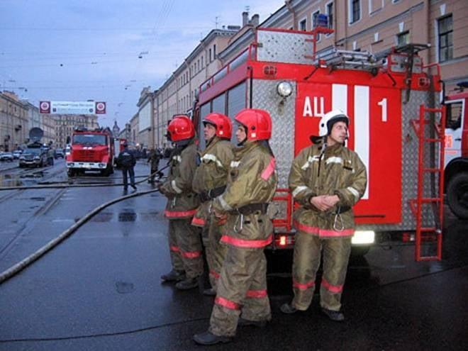 Пожар на автовокзале Саранска не угрожал людям