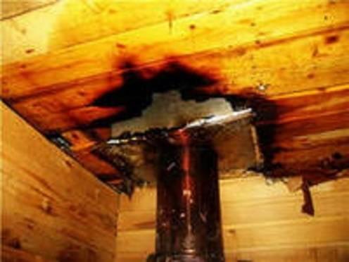 В Мордовии на выходных горело шесть бань