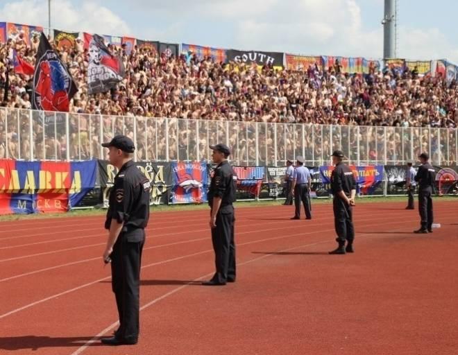 В Мордовии футбольные фанаты проштрафились на 58 тыс рублей
