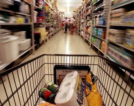 Пьяный житель Саранска сбежал из гипермаркета с тележкой неоплаченного товара
