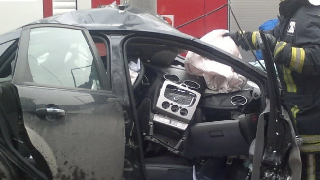 Смертельное ДТП в Мордовии: «Форд Фокус» с детьми в салоне врезался в «ЛАДА-211540»