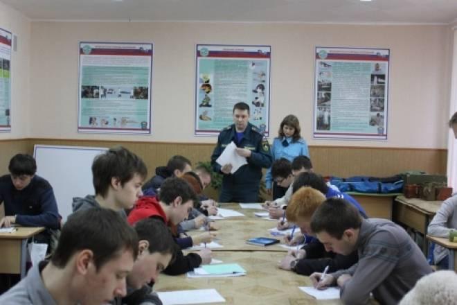 Мордовская молодежь проявляет отвагу