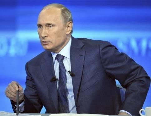 Владимир Путин перенёс ежегодную большую пресс-конференцию
