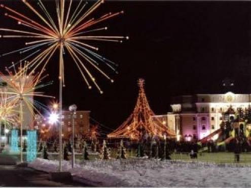 Праздничная иллюминация в Саранске загорится 15 декабря