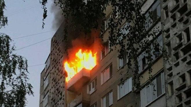 В результате пожара на улице Сущинского в Саранске никто не пострадал