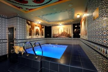 Арабский номер - бассейн