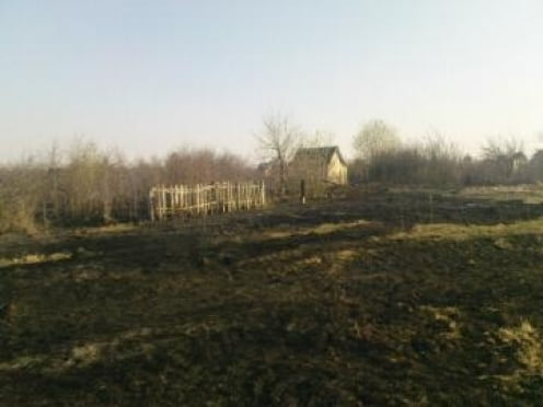 Дачный массив в Лямбирском районе охватил огонь