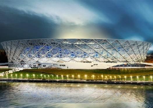 На площадке строящегося к ЧМ-2018 стадиона нашли человеческие кости