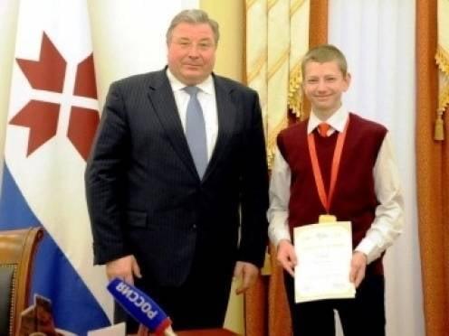 В Мордовии растут «золотые» дети