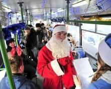 В Саранске похвалили самые новогодние троллейбусы
