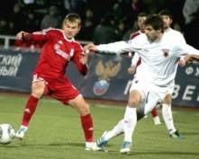 Футбольный клуб «Мордовия» уступил «Алании» в матче за 7-е место в Кубке ФНЛ