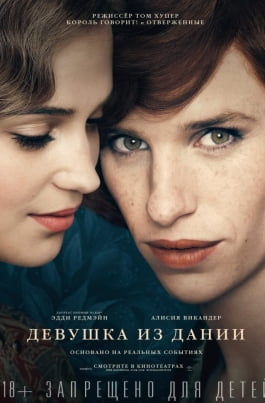 Девушка из ДанииThe Danish Girl постер