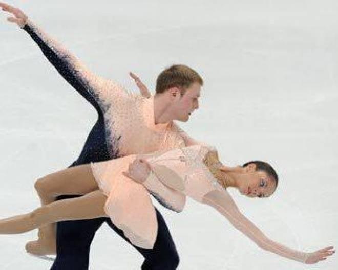 Вера Базарова и Юрий Ларионов (Мордовия) - лучшие среди российских пар в Ницце
