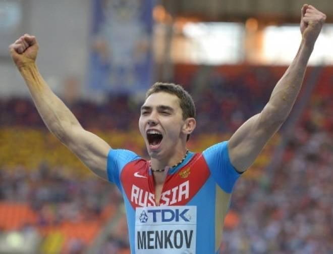 Александр Меньков — лучший легкоатлет России в 2013 году