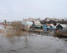Паводок в Мордовии отступает