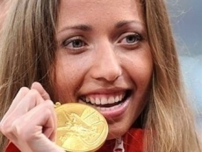 Каниськина и Кирдяпкин расстались с олимпийскими медалями
