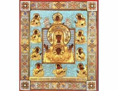 Сегодня в Саранск из Нью-Йорка прибудет исцеляющая икона Божией Матери