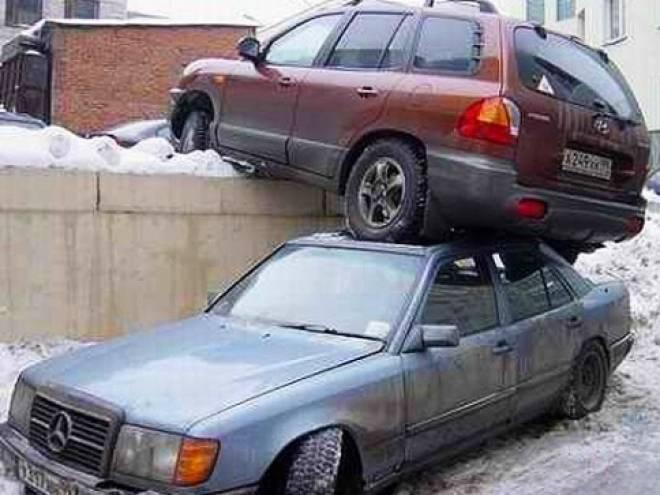 Каждый четвертый житель Саранска имеет машину! Где парковаться будем?