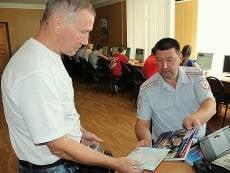 В ГИБДД Мордовии раздают памятки водителям