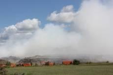 За пожар на городской свалке ответит «ГорПолигон»