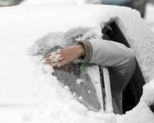 В Мордовии водитель «Газели» двое суток провел в плену снега