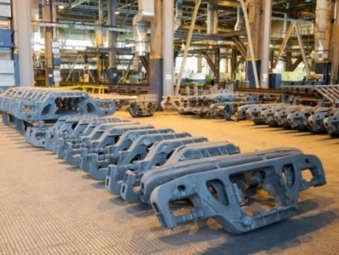 Литейщики Мордовии запустили производство крупного вагонного литья
