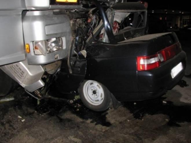 ДТП в Ульяновской области: водитель фуры из Саранска раздавил «Калину» вместе с водителем