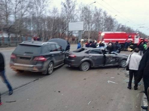 Пятничное ДТП в Саранске: пострадали два человека