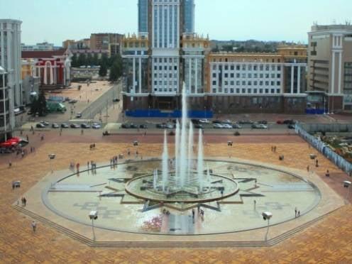 Саранские фонтаны впечатлили пензенских чиновников