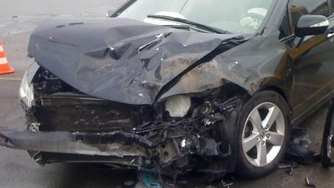 В Саранске невнимательный водитель «Хонды» влетел в «Ауди», пострадал 1 человек