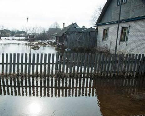 """В Саранске половодье """"наступает"""" на жилой сектор"""