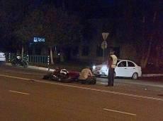 В Саранске водитель «девятки» отправил мотоциклиста в больницу