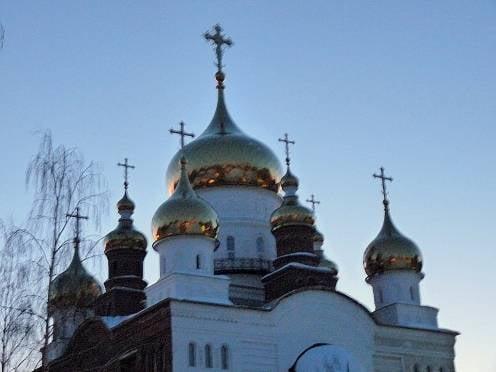 Храм Мефодия и Кирилла в Саранске находится на финальном этапе строительства