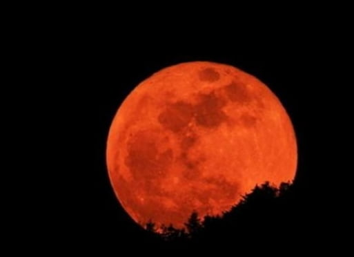 Сегодня земляне увидят «кровавую Луну»