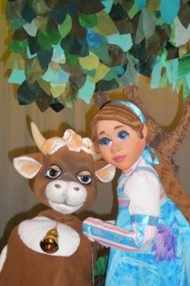 Сказка о Крошечке-Хаврошечке и коровушке её Бурёнушке постер