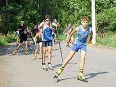 Лыжероллеры из Мордовии отличились на очередных соревнованиях