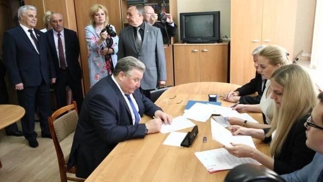 Владимир Волков официально подтвердил намерение участвовать в выборах главы