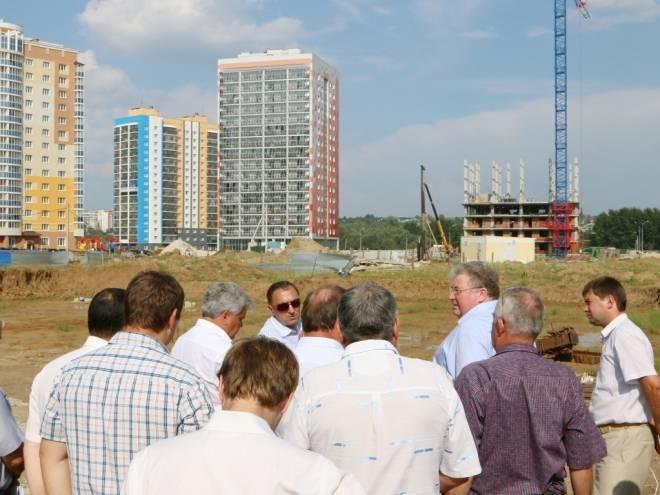 Глава региона оценил ход застройки вокруг стадиона «Мордовия Арена»