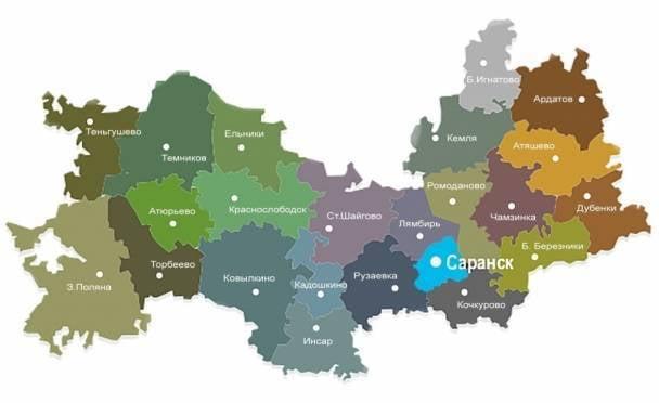 Природное и культурное наследие Мордовии изобразят на картах