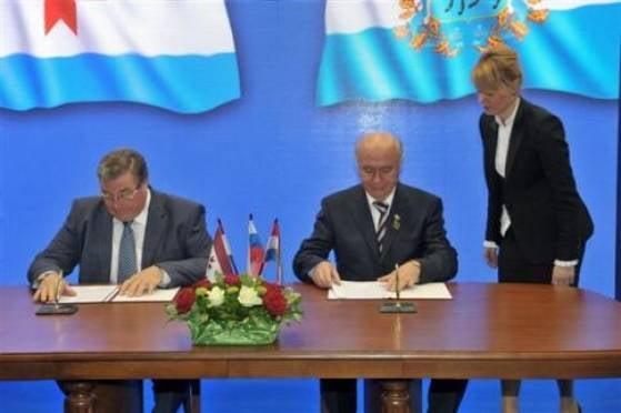 Мордовия и Cамарская область подписали соглашение о сотрудничестве