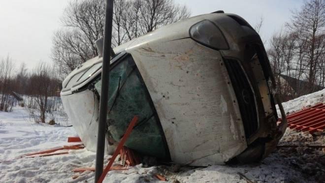 С моста в Рязанской области упала «Приора» из Мордовии